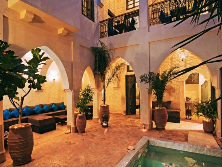 Riad Rénové en Location Longue Durée à Agadir