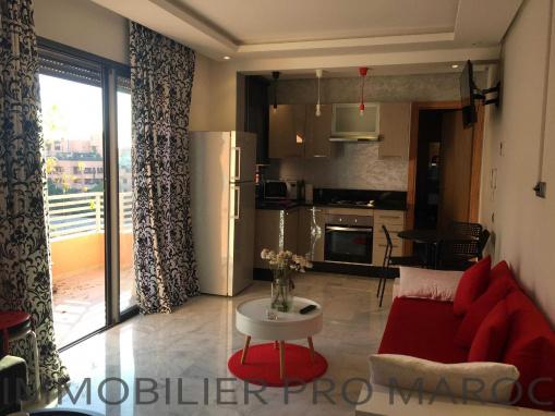 Appartement de standing en dernier étage-moderne - coeur de Guéliz