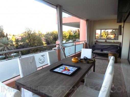 Appartement avec grande terrasse Hivernage