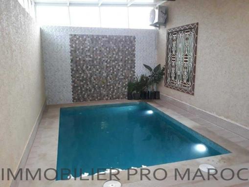 Maison avec piscine sur la route d'Ourika