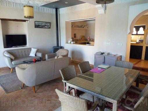 villa meublée avec piscine à 8kms d'Essaouira