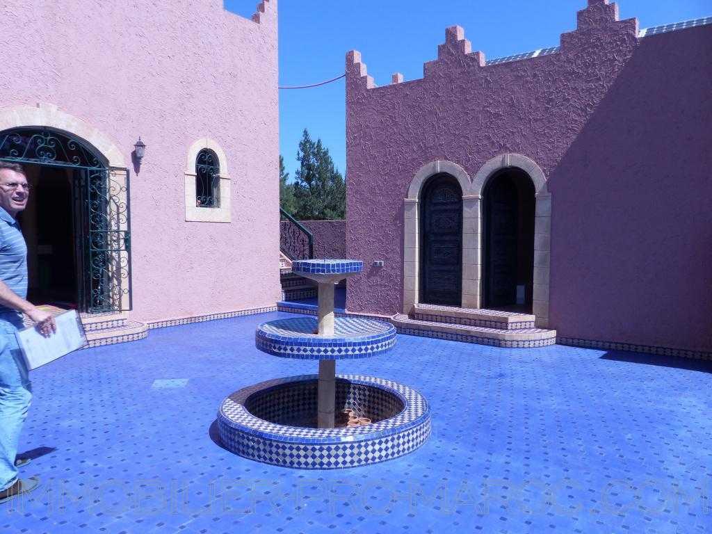 Villa Avantages Facile d'accès à 10mns d'Essaouira, produit rare car charmant et très arboré, au calme et sécurisé