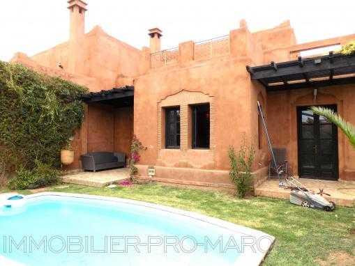 Villa avec piscine -Palmeraie