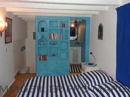 Charmant riad meublé 2 chambres vue mer