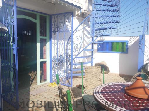 Appartement terrasse meublé dans le quartier Azlef
