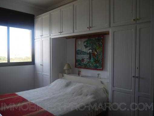 Bel appartement 1e étage, meublé et sans vis à vis au quartier rawnak