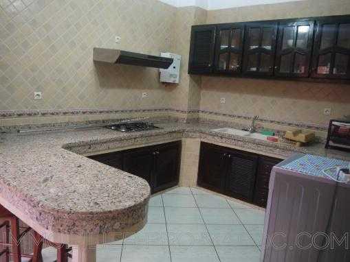 spacieux RDC meublé au quartier Mostakbal