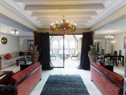 Atico 3 chambres salon + terrasse sur les toits de Marrakech