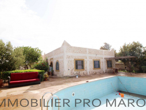 Maison de campagne avec piscine non meublée, à seulement 14 Kms d'Essaouira
