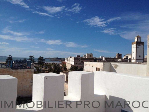 magnifique Riad vu mer, dans le médina d'Essaouira