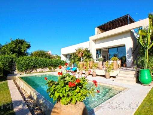 Villa contemporaine sur le Golf de Mogador - piscine