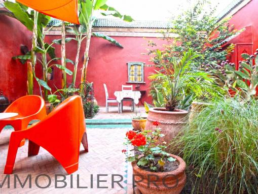 Maison d'hôtes avec jardin au coeur de la médina