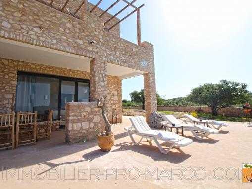 villa R+1, avec piscine à 20 min d'Essaouira