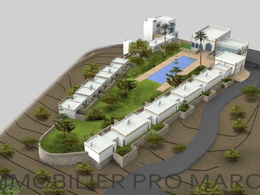 Projet touristique avec vue panoramique à 20 mns d'Essaouira