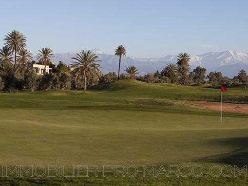 Villa dans resort Golfique
