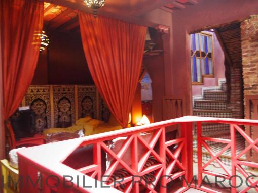 Atypique riad meublé très bien situé dans la médina d'Essaouira