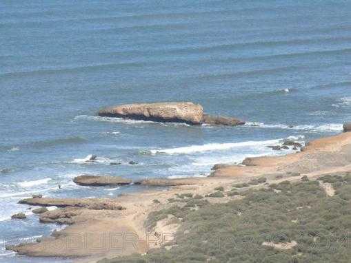 Emplacement exceptionnel! TERRAIN de 10 Hectares, vue mer, à 15 Kms d'Essaouira