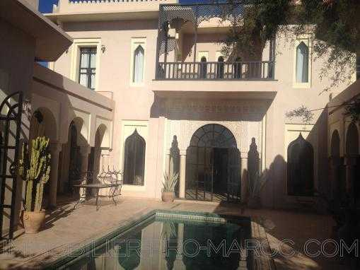 Villa de Maitre sur  le Golf Amelkis