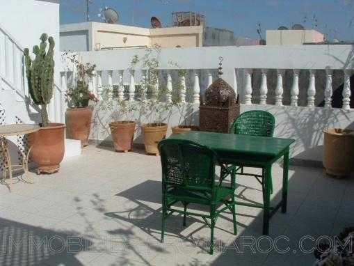 Immeuble de 4 logements lumineux dans nouveau quartier d'Essaouira