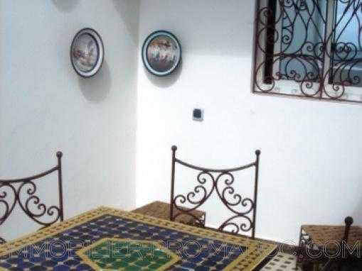 LOCATION longue durée: DUPLEX VU MER,entièrement meublé, à 2 min de la plage d'Essaouira