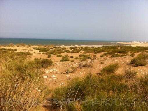 TERRAIN DE 11200M² VU MER sur la plage, à 25 Kms d'Essaouira