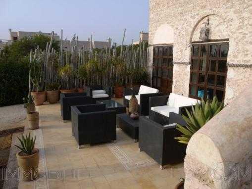 Charmantemaison d'hôtestraditionnelle, plain pied, avec piscine à 12 Kms d'Essaouira