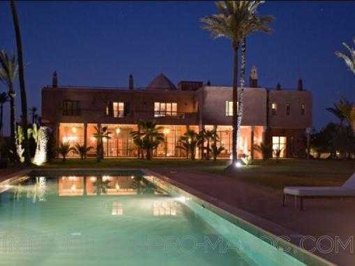 Somptueuse Villa à la palmeraie
