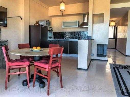 appartement, vue imprenable sur l'Océan et l'île de Mogador