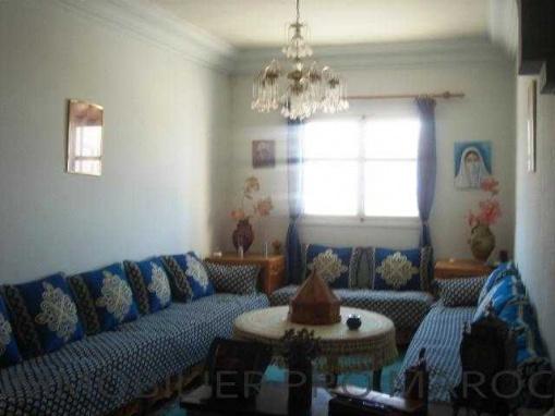 Appartement 1ér étage, meublé au quartier Borj, avec studio sur la terrasse