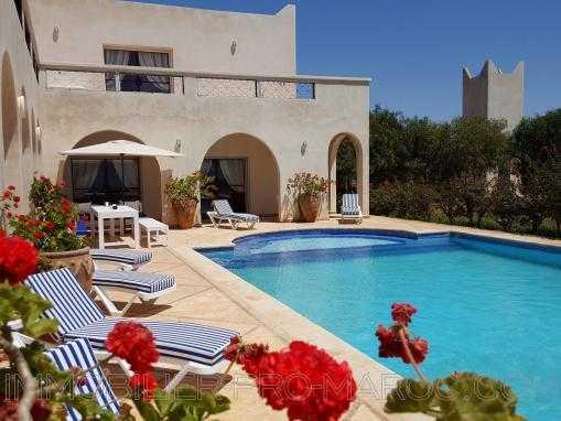 Villa d'exception, vue mer,avec piscine, à 14 Km d'Essaouira
