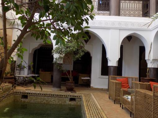 Somptueux riad maison d'hôtes-6 chambres-piscine-Riad Zeitoun Jdid