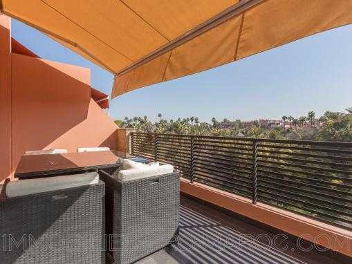 Duplex contemporain face aux jardins Majorelle