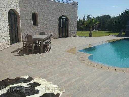 Villa avec piscine, non meublée à 12 Kms d'Essaouira