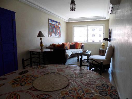 Appartement de standing -2 chambres-gueliz-Piscine
