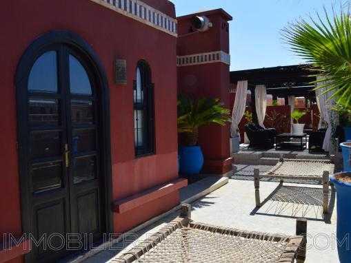 Penthouse 4 chambres sur les toits de Marrakech