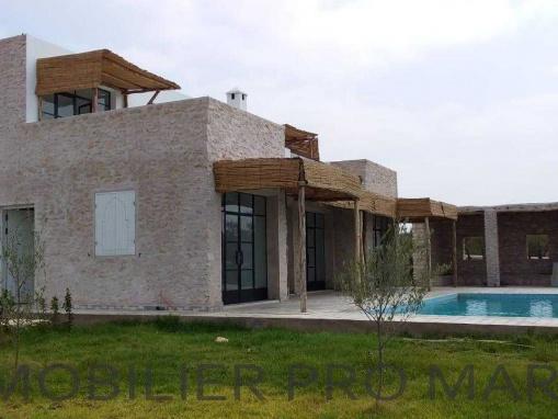 villa non meublée avec piscine à 14 kms d'Essaouira