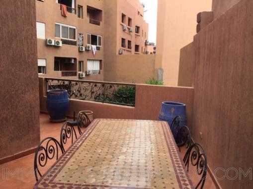 Appartement  2 chambres-Hyper centre Gueliz-Terrasse -Piscine
