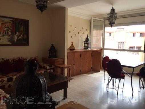 Location appartement 1 chb-Hyper centre Gueliz-Piscine