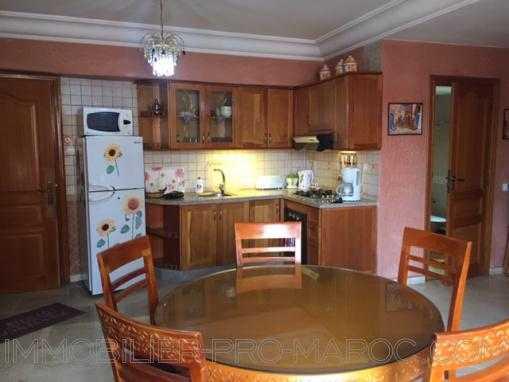 Location appartement meublé-gueliz-Piscine