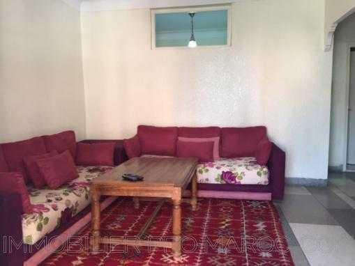 Location appartement meublé-1 chb-terrasse-Guéliz