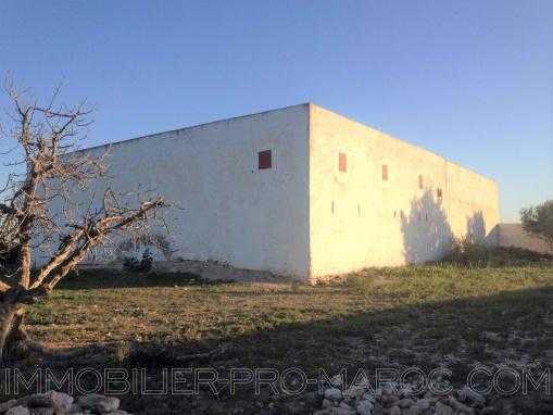 Maison à construire avec un beau volume à qlqs min d'essaouira