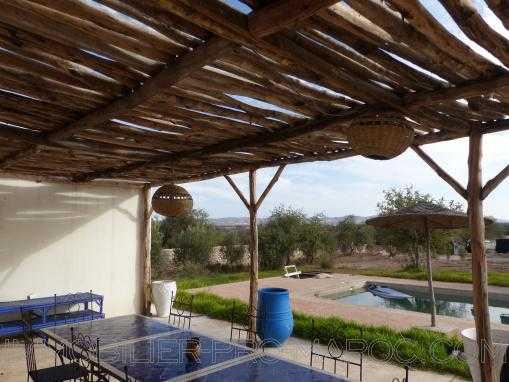 3 Maisons avec piscine , 3 chambre chacune avec vue dégagée sur la vallée
