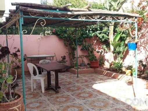 villa meublée avec jardin à 8 Kms d'Essaouira