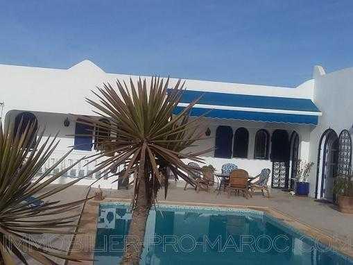 Villa de charme avec piscine et vue splendide à 20 km d'Agadir