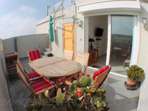 Appartement avec double terrasse vue dégagée sur la forêt