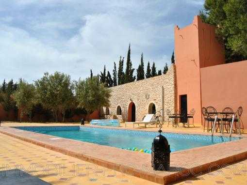 CHARMANTE VILLA avec piscine, meublée, à 12 Kms d'Essaouira