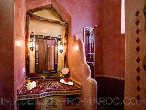 Authentique maison d'hôtes avec double terrasse au cœur de la Médina