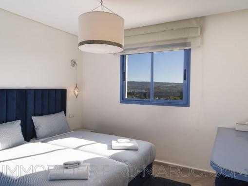 Bel appartement dans résidence de standing vue sur mer