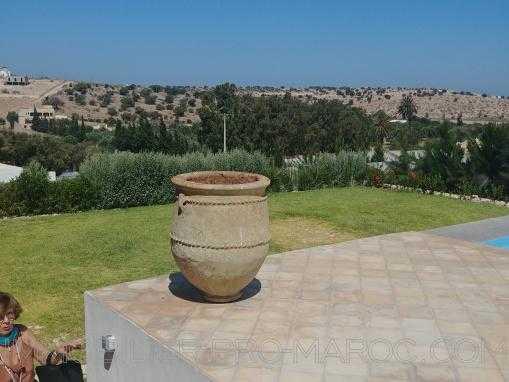 villa vue imprenable, non meublée, avec piscine, à seulement 12 Kms d'Essaouira
