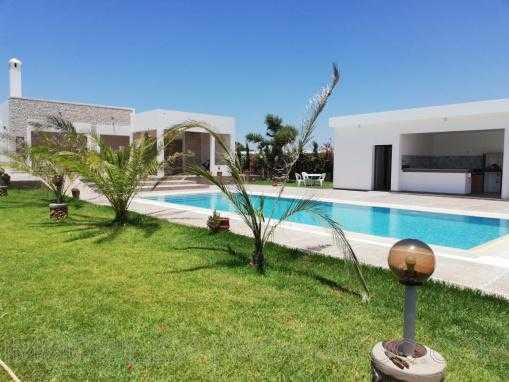 Belle VILLA avec piscine, meublée, à 13 kms d'Essaouira